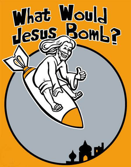 wwjb2il What Would Jesus Do? Religion Humor