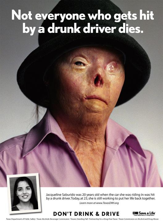 jacqui poster Texax Anti DUI Poster wtf Politics