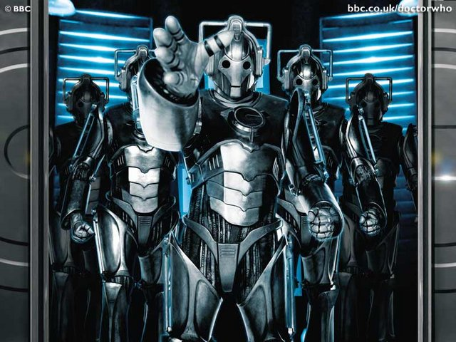 cybermen Dr Who   Cybermen Television Fantasy   Science Fiction