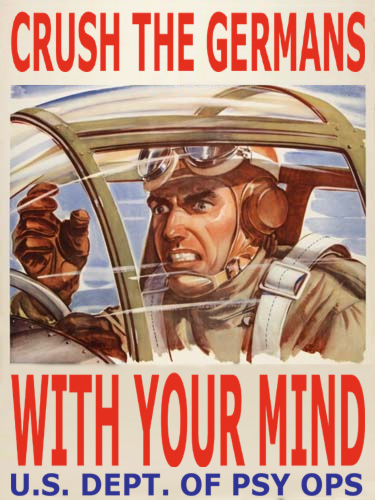 psyops U.S. Department of Psy Ops War Poster Motivational Posters Military Humor
