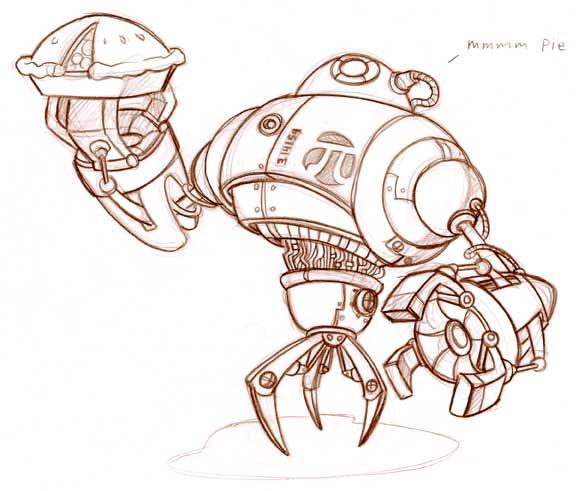 bot05 Robot Wallpaper wtf