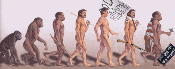 devolution8pr Evolution of a Republican Politics Humor