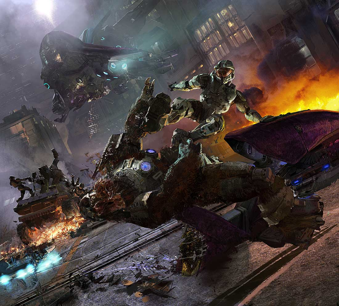 Halo Live Wallpaper: Halo 2 High Resolution