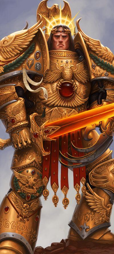 Warhammer 40k- Horus | MyConfinedSpace  Warhammer 40k- ...