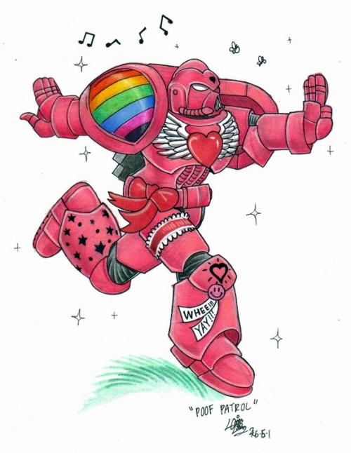 warhammer pink Warhammer in Pink Warhammer 40k Humor