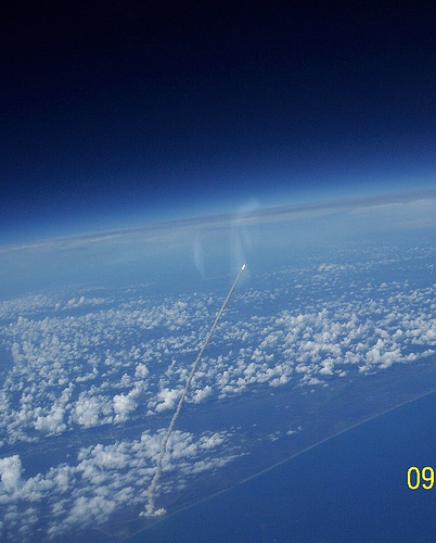 277416694 4815a71f46 Shuttle Launch, As Seen From ISS Fantasy   Science Fiction