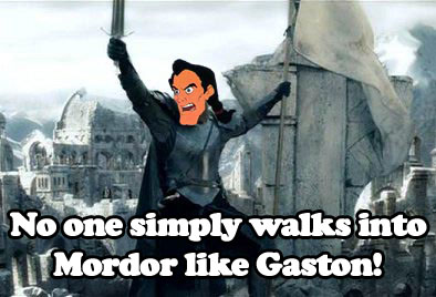 mordor gaston One Does Not Simply Walk Into Mordor! Movies Humor