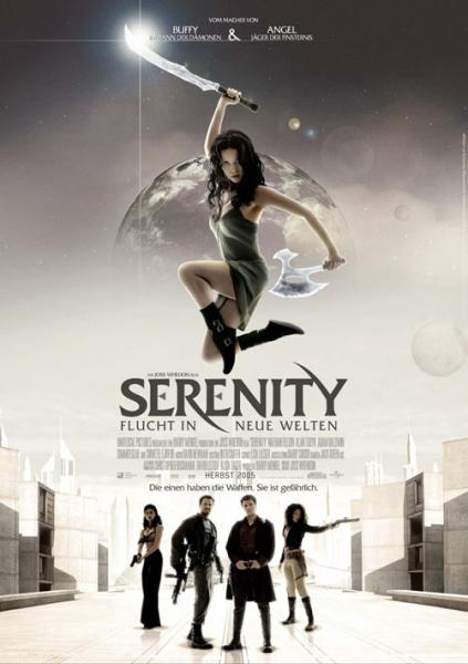serenity.thumbnail Serenity / Firefly Movie Posters Space Movies Fantasy   Science Fiction