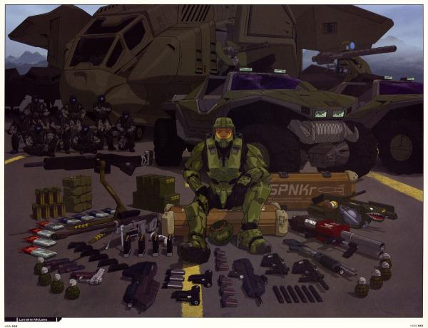 halo armory.thumbnail Halo  Master Chiefs Arsenal Military Gaming Comic Books