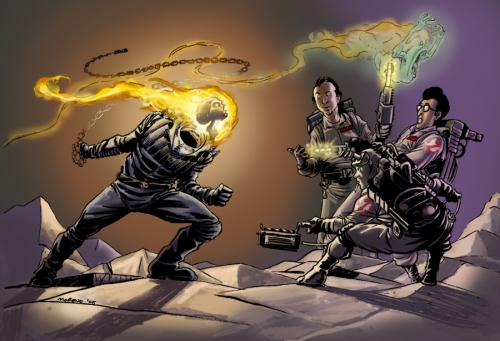 1166106589711.thumbnail Ghost Busters Vs Ghost Rider Humor Comic Books