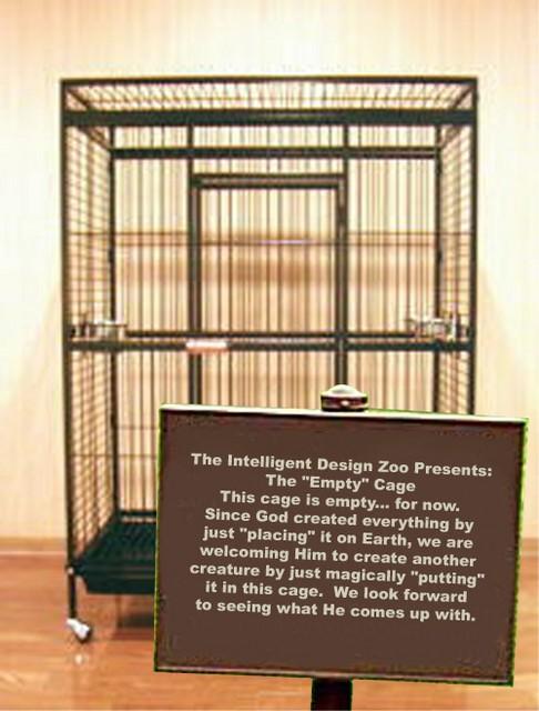 creationism Intelligent Design Zoo Religion Humor