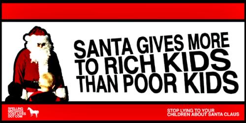 santa3.thumbnail Santa Gives More To Rich Kids X Mas Religion Humor