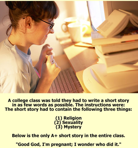 short 20story College Short Story Humor