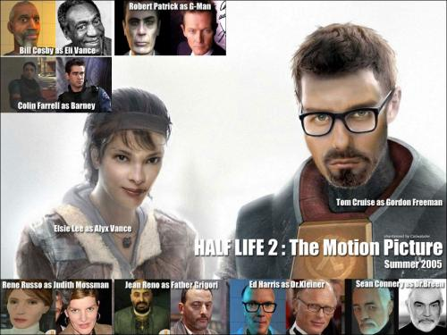 half life 2.thumbnail Half Life 2 Real Life Actors Movies Gaming Fantasy   Science Fiction