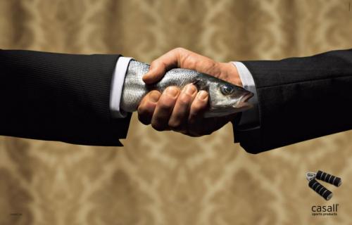 limp handshake.thumbnail Fishy Handshake wtf Humor Advertisements