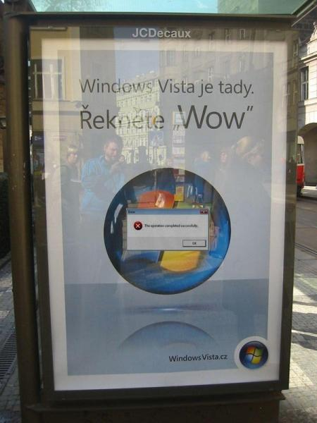 windows vista prague large.thumbnail Windows Vista Error Advertisement wtf Humor Computers Advertisements