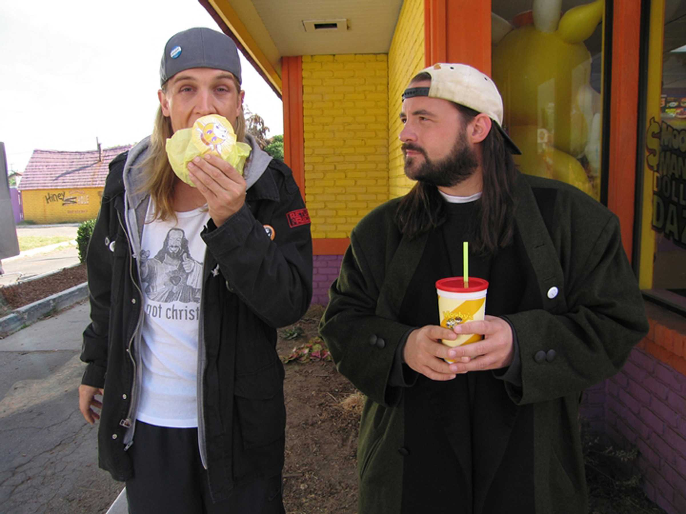 Jay and silent bob wallpaper clerks 2 myconfinedspace