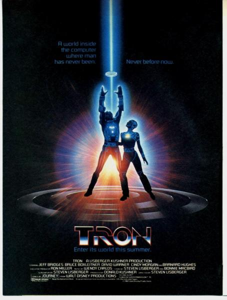 tron movie poster.thumbnail Tron Movie Poster Movies Computers