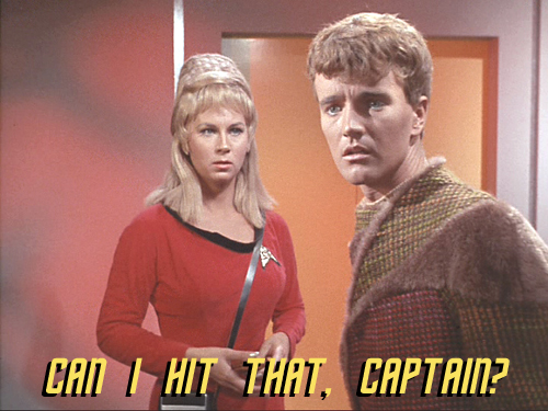 charliex hitit Charlie X   Can I Hit That, Captain? Television Humor Forum Fodder