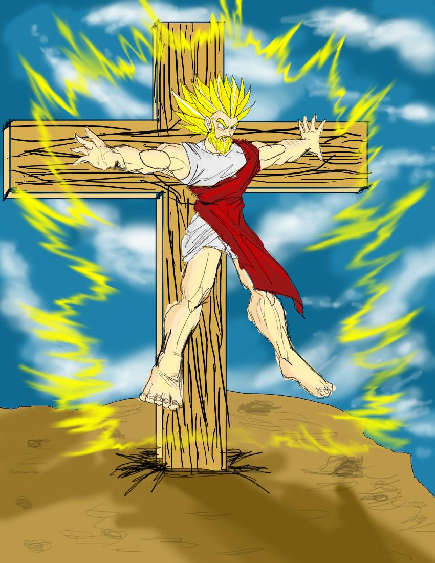 Funny DBZ pictures Dbz-jesus