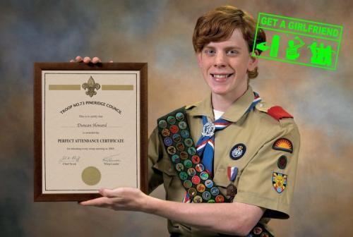 Get A Girlfriend - Boy Scout