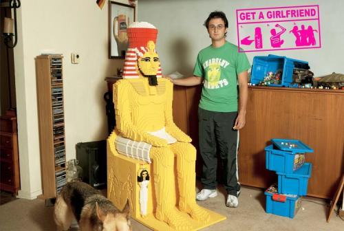 Get A Girlfriend - Master Lego Builder