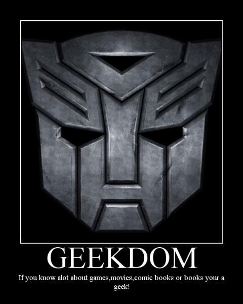 Geek Motivational Poster!