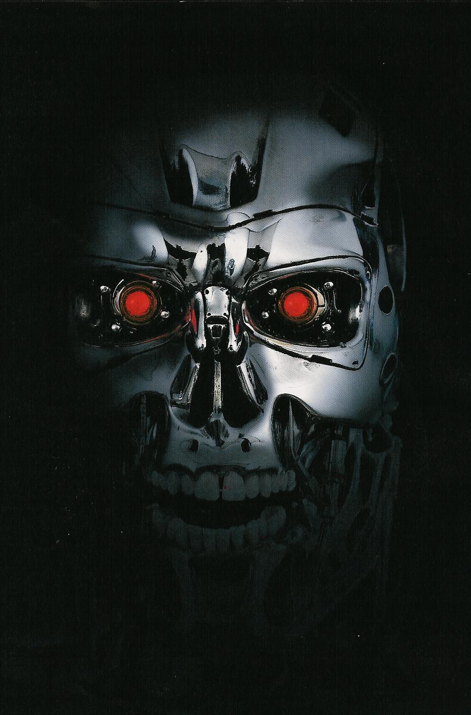 Terminator Face   MyConfinedSpace