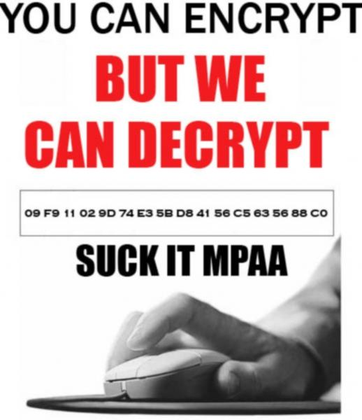 you can encrypt but we can decrypt suck it mpaa.thumbnail You can encrypt but we can decrypt   Suck it MPAA Politics Movies Humor Computers