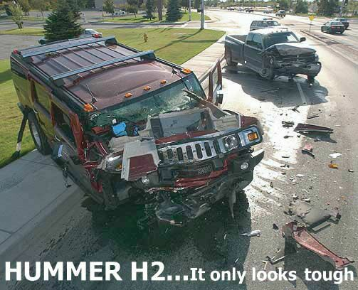 hummer 20 tough It only looks tough... Dark Humor