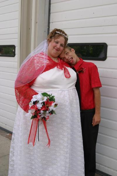 Gorgeous Wedding Couple 2