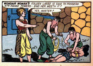 marston1a Wonder Woman Bondage Sexy Humor Comic Books