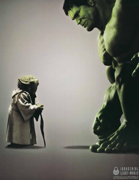 Yoda Meet Hulk