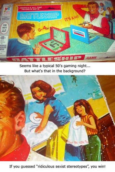 Sexist Board Game