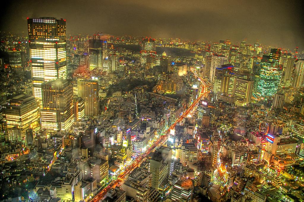 HDR Tokyo