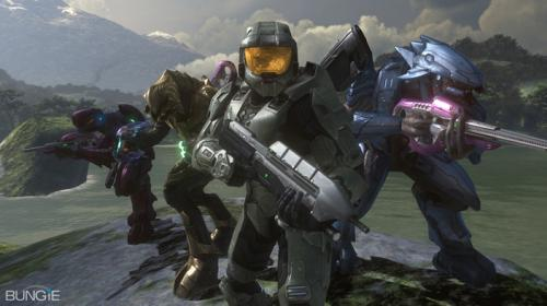 4pftw.thumbnail Halo 3   4 Player Co Op Over LIVE! Gaming Fantasy   Science Fiction