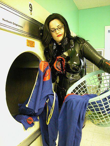 baroness laundry Baroness Doing Cobra Commanders Laundry wtf Sexy Comic Books
