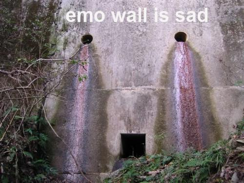 emowall feb.thumbnail Emo wall wtf Humor