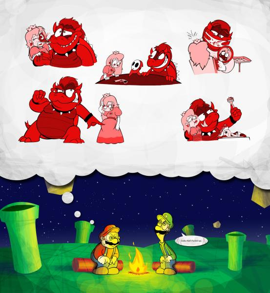 mario s dream nightmare.thumbnail Marios Nightmare wtf Humor Gaming