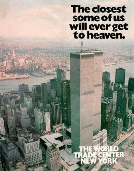 wtc closest to heaven.thumbnail The closest some of us will ever get to heaven   The World Trade Center   New York wtf Dark Humor 9 11
