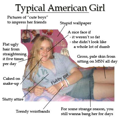 Typical american girl