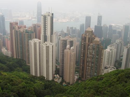 Looking into Hong Kong and Tsim Sha Tsui