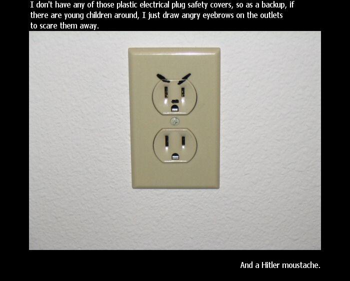 Be careful, it's Hitler!