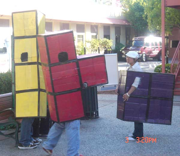 Tetris Cos Players