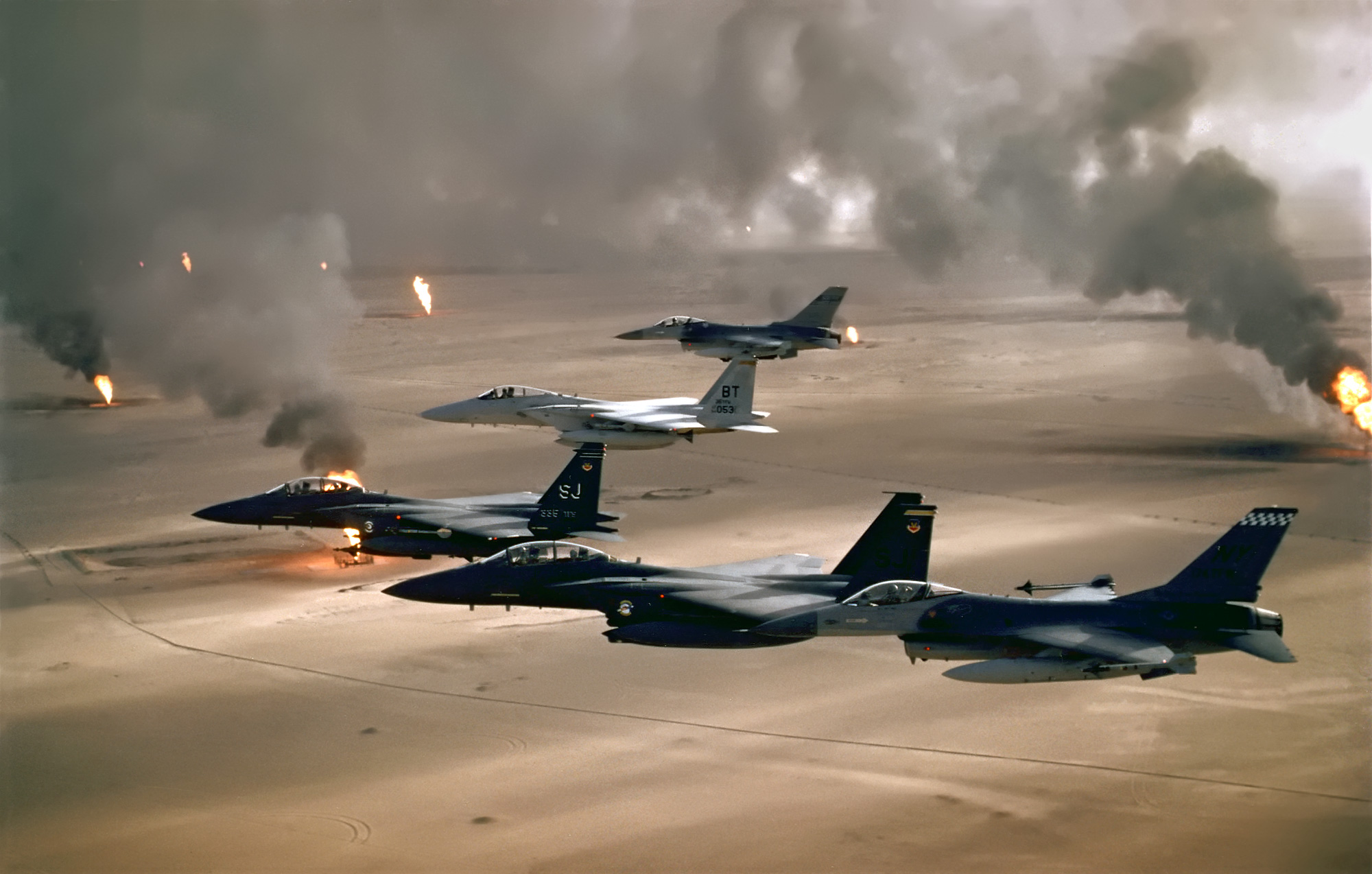 Bombs over Baghdad
