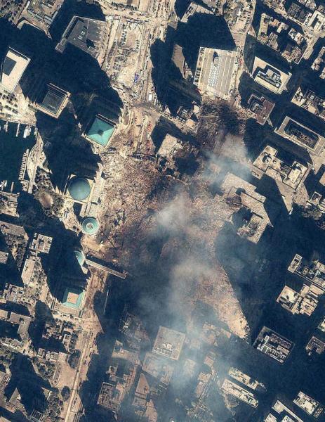 Ground Zero Satellite Photo