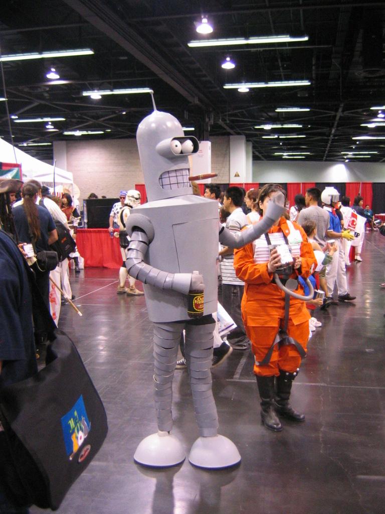 Bender cosplayer