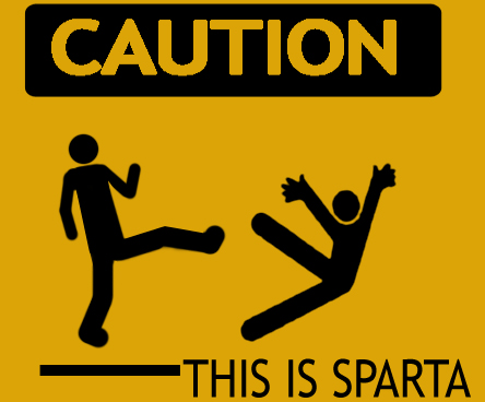 Spartan Caution