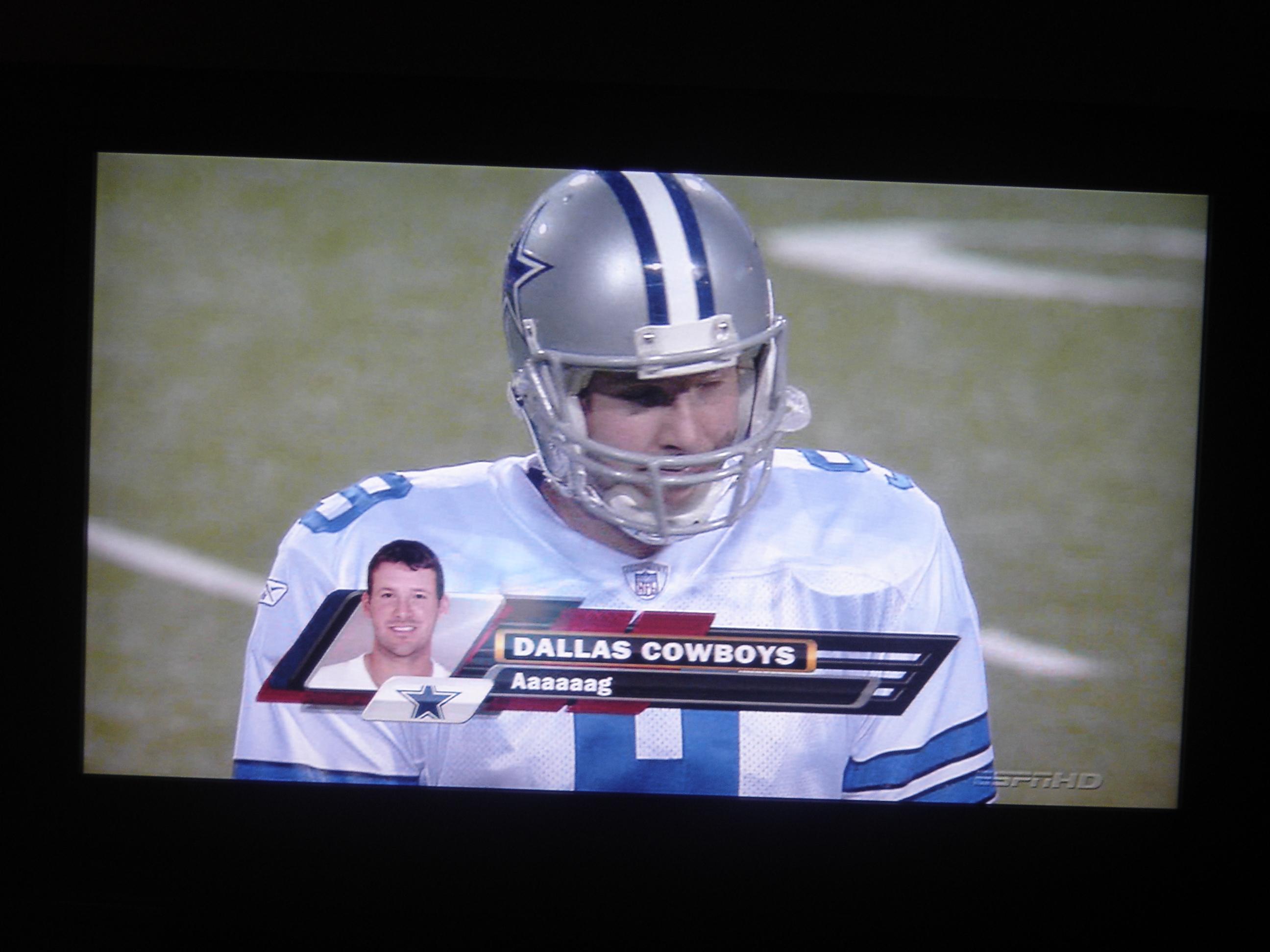 Tony Romo Sucks