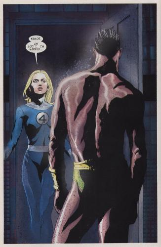 invisible woman married.thumbnail Invisible Woman Is Married Sexy Humor Comic Books